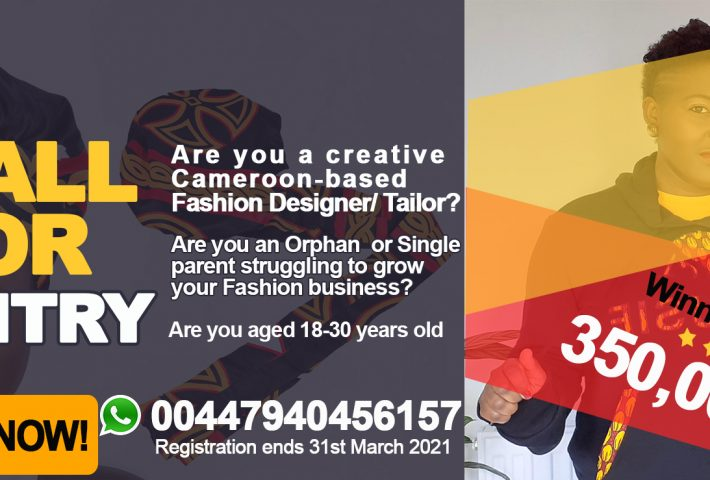 AMUSIE's Young Designers Contest – WIN 350,000 FCFA